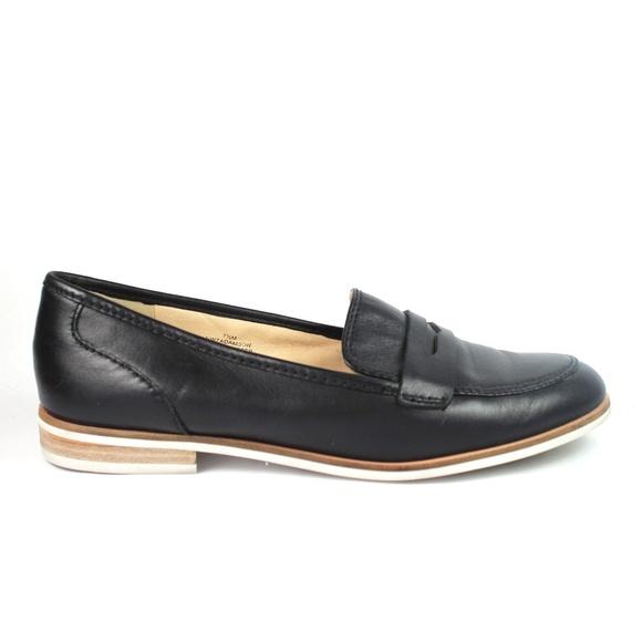 619ebf4f236 Nine West Womens Black Loafer Shoes Adamson Sz 7.5.  M 5b5a057b534ef9585d5b5c77